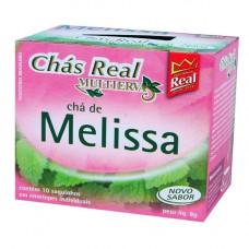 Chás Real Melissa 10 saquinhos