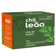 Cha Leão  Boldo com 10 saquinhos.