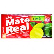 Cha Mate Real   Limão 20  sachês