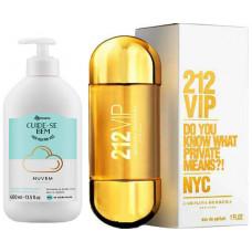 Kit 212 vip +hidratante corporal