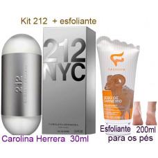 Kit 212 + Esfoliante para pes .