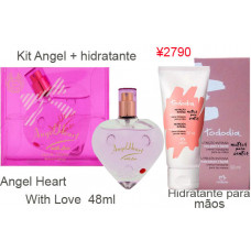 Kit Angel Heart  + Natura creme p/ maos