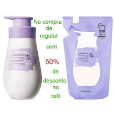 Natura Kit  hidratante corporal Algodão Envolvente ( regular + refil)