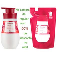 Natura Kit  hidratante corporal  Cereja e Avelã (regular + refil)