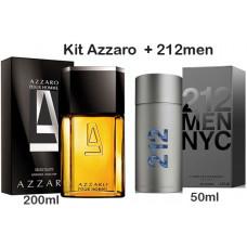Kit  Azzaro  +  212 men