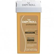 Depiroll Refil Cera Roll-on Corporal Tradicional 100g.