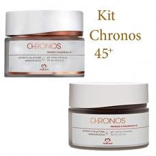 kit Natura Chronos 45+ 40g noturno e Diurno FPS 30